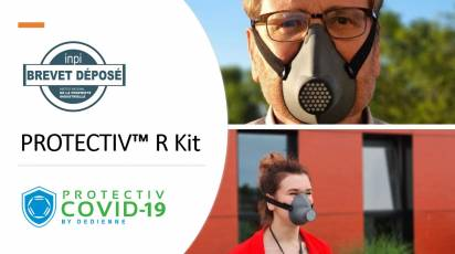 Discover our barrier mask: Protectiv R Kit
