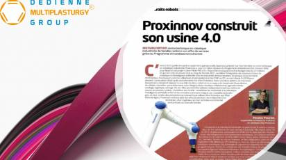 Proxinnov builds its plant 4.0